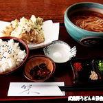 松栄庵 - 天ぷらランチ
