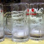 松 - バブルリングがつく生ビール