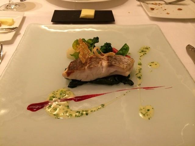ラ・レゾナンス - メインの鯛