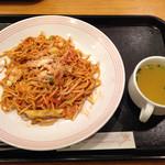 リンガーハット - ナポリタン(チャンポン)スープ付