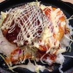 肉食堂 優 - 牛かつライス 800円