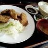 弁天 - 料理写真:白レバーカツ定食