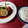 厨 ミラベル - 料理写真:ビーフカツレツ+ライス