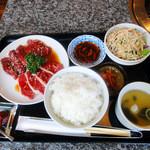 仙台牛焼肉 バリバリ - カルビとハラミランチ