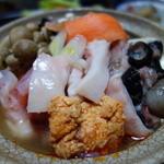 長谷旅館 - 料理写真:あんこう鍋