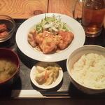 博多八郎 - とり天ネギポン酢¥500