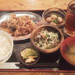 博多八郎 - 豚キムチ¥480