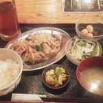 博多八郎 - 冷しゃぶ ¥500