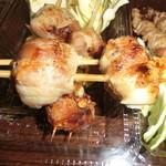 串太郎 - 豚チーズ アップ  おすすめ