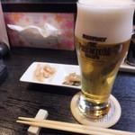 SAMURAI. - 料理写真:ビール最高♪