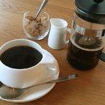 カフェ アキッサ - フレンチプレスで。