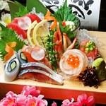 家庭料理 かわじ - 刺身肴がし盛り!!