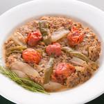 ミスターイスタンブール - TEPSI KEBAB(野菜とミンチのケバブ)