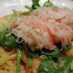たらこ屋 - ずわい蟹の〆のパスタで腹一杯