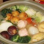ふわっと - まんまるたこ焼き鍋(1人前980円)