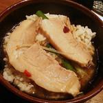 24536101 - 半白飯100円を追加して雑炊で締めてみました。