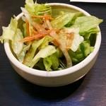 西洋食房 芝 - デミカツライスのサラダ