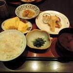 北新地 むろ多 - 2014.2味噌漬けと出し巻定食
