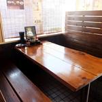 夢っ志愈亭 - 6人掛けテーブルも3卓ございます。ご家族でもご来店ください!!