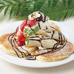 Hawaiian Pancake Factory - ストロベリー&バナナ