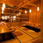 琉歌 - 宴会にぴったりなお座敷のお席もございます。