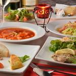 Dining urra - 3500円コース(8品+2時間飲み放題付)