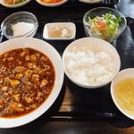 24541286 - ランチ麻婆豆腐セット 850円 【 2014年2月 】