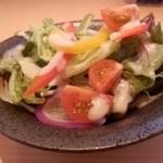 24542118 - サラダのアップ