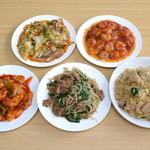 台湾料理 金麒麟坊 - 料理写真:食べ放題、飲み放題男子3580円で食べ過ぎ状態