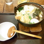 手打吉兆 - お店もオススメしない鍋焼き蕎麦¥1550w♪