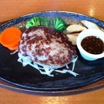 けん - ハンバーグステーキ