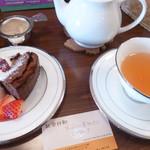 紅茶日和 - ケーキセット