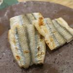 治鮨 - 26年2月 細魚焼き