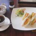Cafe & Kitchen Rabbits - 食べたモノ・モーニングB