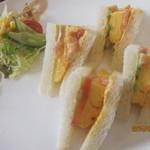 Cafe & Kitchen Rabbits - ふわふわ玉子サンド