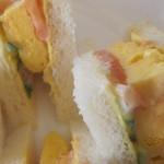Cafe & Kitchen Rabbits - ふわふわ玉子サンド、アップ!