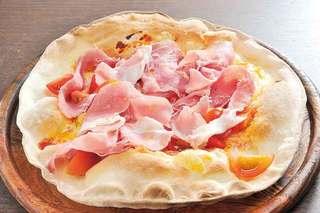 Ristoro Cocteau's - パルマ産 生ハムとトマトのピッツァ1600円