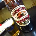 加一食堂 - ビール(大)590円