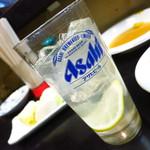 加一食堂 - レモンサワー280円
