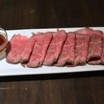 24552388 - 食べログクーポンにて黒毛和牛のローストビーフ