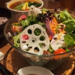 10ZEN  - たっぷりのサラダ