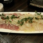 waintokurafutobi-ruharubaru - 新鮮鮮魚のカルパッチョ2種盛り