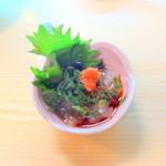 幸っちゃん寿司 - のれそれポン酢がけ