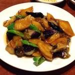 千里香 - 地三鮮(三種の野菜炒め)