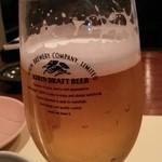 福 - 生ビール KIRIN