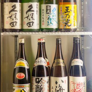 久保田・八海山・エクストラコールド等、プレミアム飲み放題コース