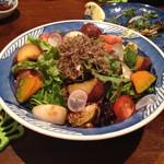 おどり - 焼き野菜のサラダ