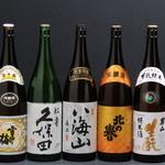 海のがき大将 - 北海道の銘酒、地酒も取り揃えております。ぜひ皆様でお楽しみください。