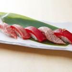 新橋しのだ寿司 - 天然本マグロのみを使用「マグロづくし」