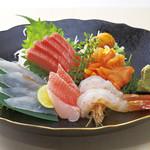 新橋しのだ寿司 - おまかせ刺身盛合せ